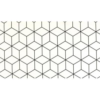 Geokubus zwart/wit